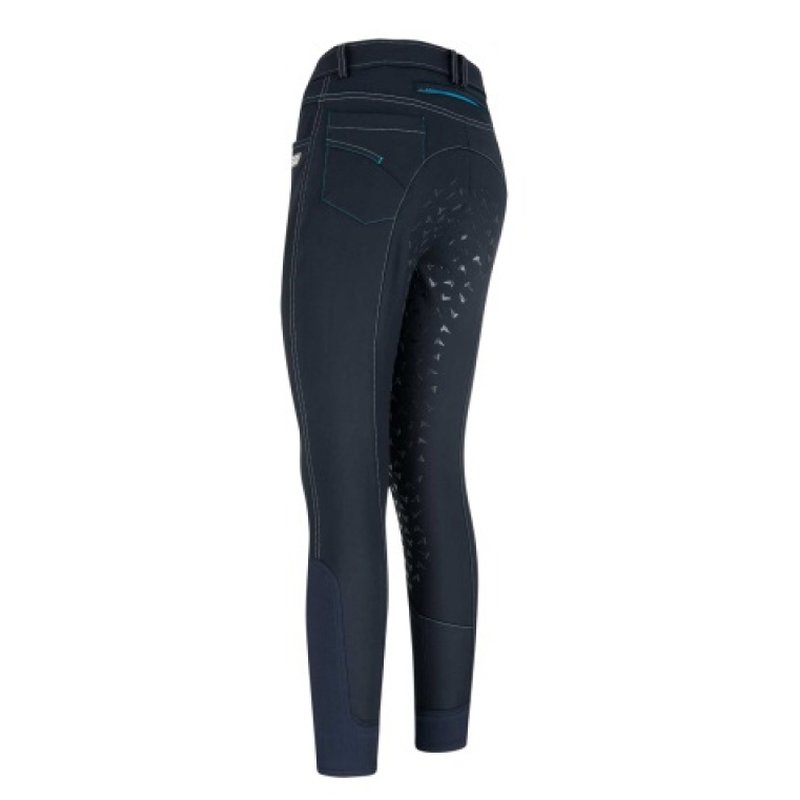 Damenreithose Miley mit Power Grip blau